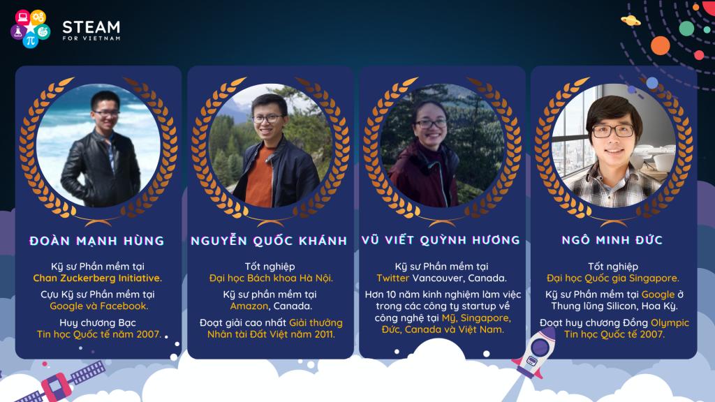 Profile bốn thầy cô CS101